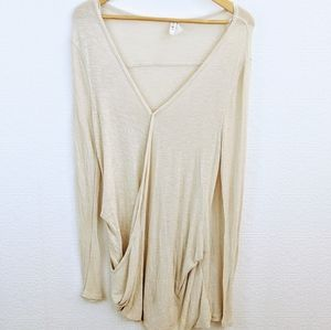 We the free cross wrap top